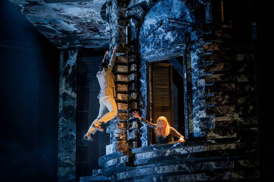 Als Don Giovanni in Glyndebourne, Juli 2014. Foto: Robert Workman