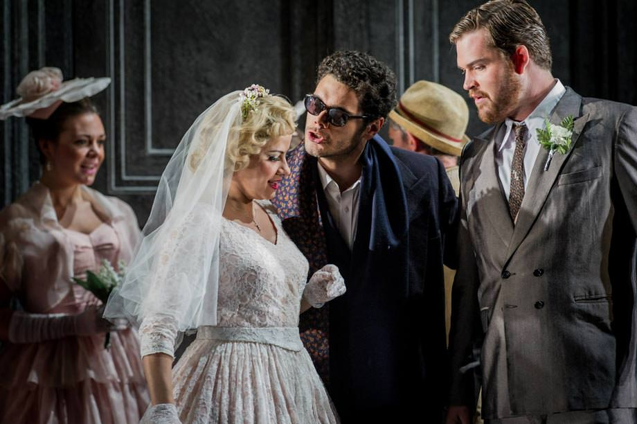 Elliot Madore as Don Giovanni at Glyndebourne, July 2014. Photo: Robert Workman
