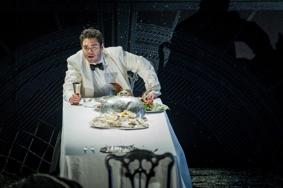 Elliot Madore als Don Giovanni in Glyndebourne, Juli 2014. Foto: Robert Workman